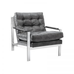 COURT ARMCHAIR (GREY)