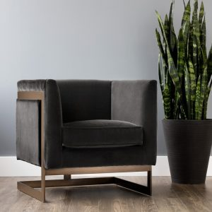 SOHO ARMCHAIR (SHALE GREY)